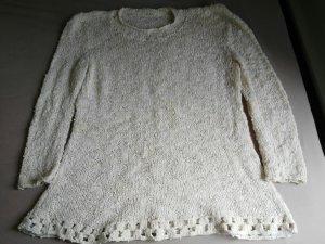 T-shirts en mailles tricotées beige clair