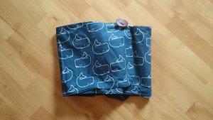 Handmade Schal/Loop maritim