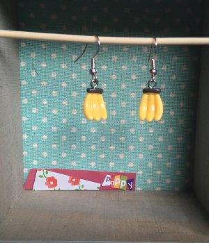 Handmade und ausgefallene Ohrringe Bananen für den Sommer ☀️