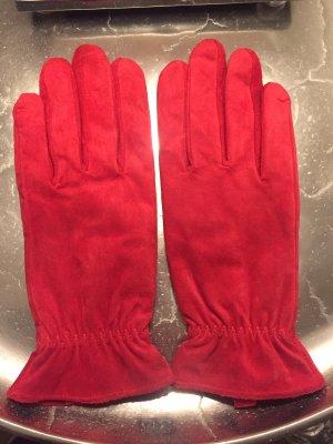 Handschoenen baksteenrood