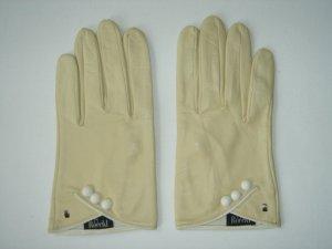 Handschuhe aus Leder von Roeckl, beige