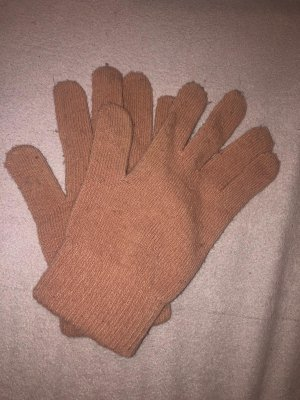 H&M Fleece Gloves pink-taupe