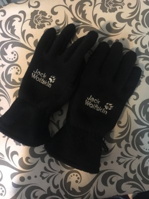 Jack Wolfskin Fleece Gloves black