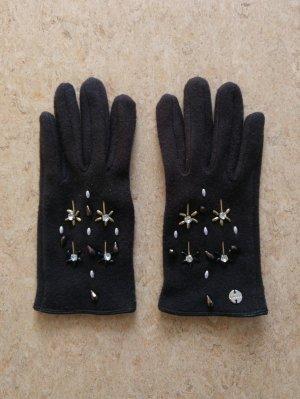 edc by Esprit Handschoenen zwart-goud