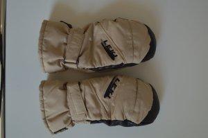 Handschuhe, Fäustlinge von LEKI, Beige-Schwarz, Größe 7