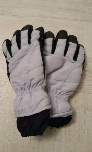 Handschuhe für Wintersport Snowboard bzw. Ski, schwarz-hellblau