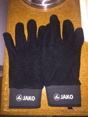 Jako Fleece handschoenen zwart-wit