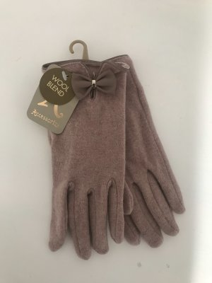 Accessorize Gloves dusky pink