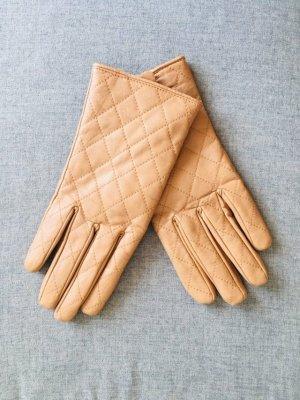 Handschuhe in beige