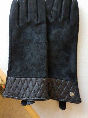 Joop! Gevoerde handschoenen zwart