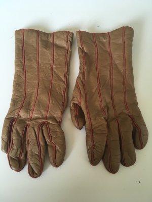 Handschuhe Leder mit Cashmerefutter