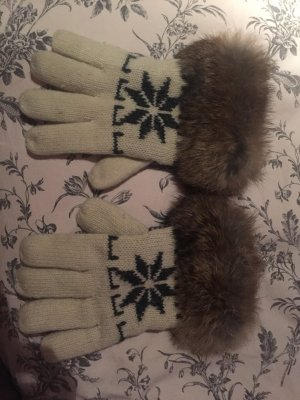 Handschuhe mit Pelz Amber