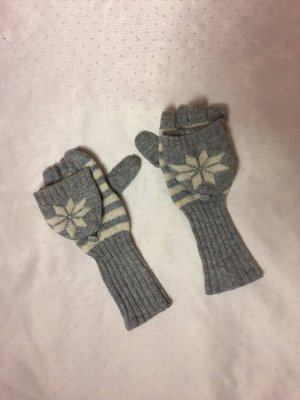 Accessorize Gloves white-light grey
