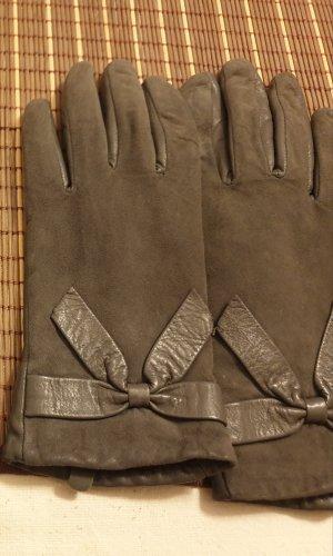 buy popular 7a30a fa731 Handschuhe Rauleder grau