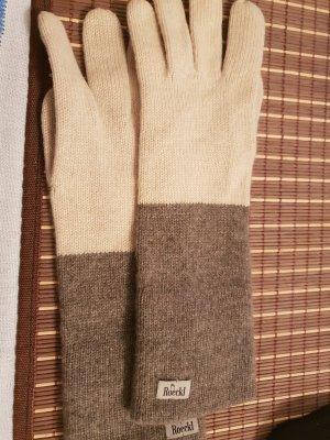 Roeckl Gloves grey brown-beige