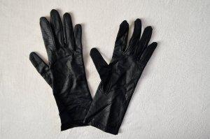 Vintage Guanto da sera nero-blu scuro