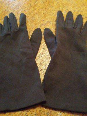 Guantes con dedos gris antracita
