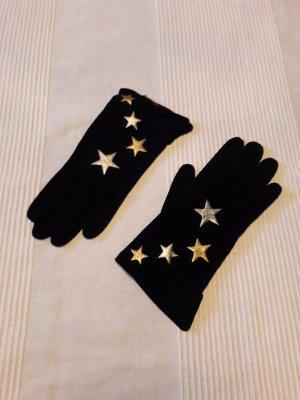 handschuhe vintage Sternapplikation