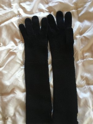 H&M Knitted Gloves black