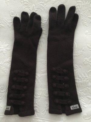 Roeckl Gebreide handschoenen bruin