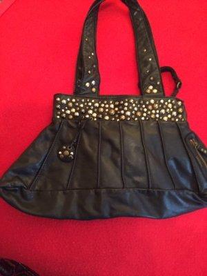 Diesel Crossbody bag black leather