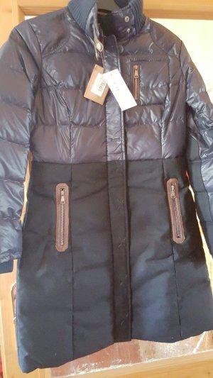 Handstich Damenjacke / -mantel Scarlett in Gr. 38 und Farbe dark blue