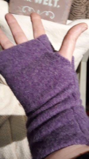 Handstulpen Helles Lila