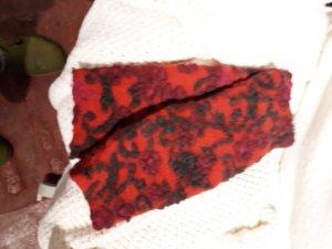 Handstulpen mit Daumenloch, Walkwolle