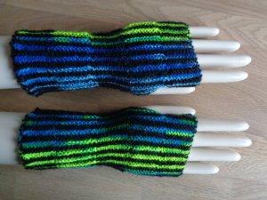 Legwarmers multicolored mixture fibre