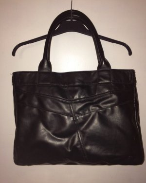 Zara Handbag black imitation leather