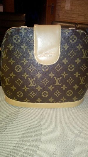 Louis Vuitton Handtas brons-bruin