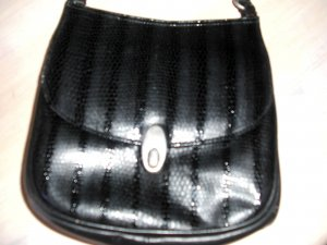 Mini Bag black synthetic material