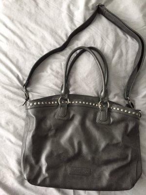 Fritzi aus preußen Shopper dark grey leather