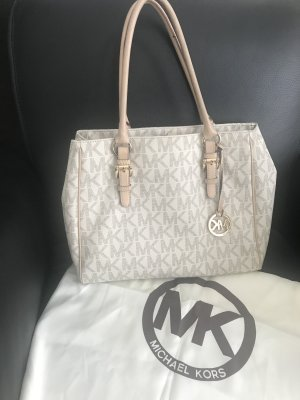 Michael Kors Carry Bag natural white-camel