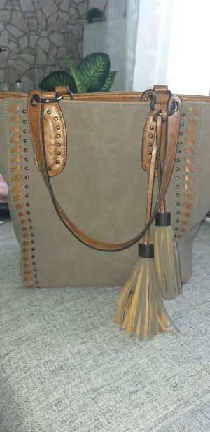 Bruno Banani Handbag grey-light brown