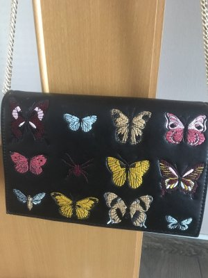 Zara Shoulder Bag black-gold-colored