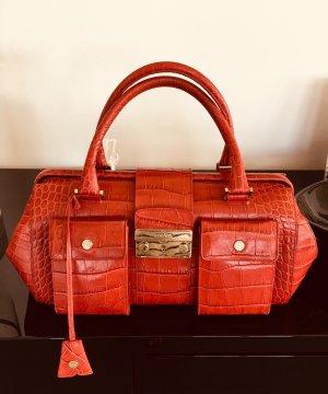 Escada Handbag brick red-red