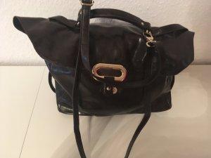 Sisley Handtas zwart bruin