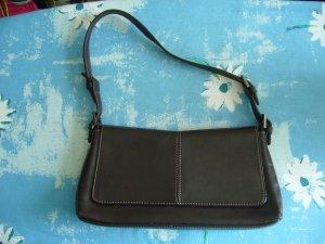 Handtas donkerbruin-bruin
