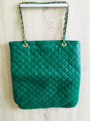 Accessorize Shopper green-forest green imitation leather