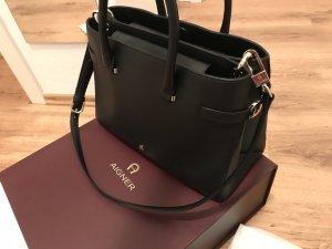 Handtasche Aigner Roma M schwarz