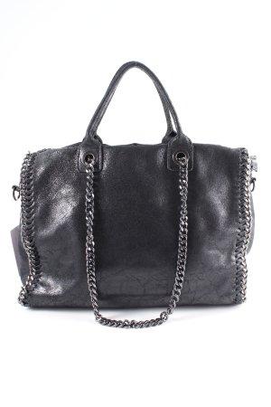 Handtasche anthrazit Casual-Look