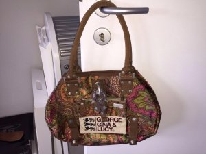 Handtasche aus edlem, seidigen Stoff von der Marke George, Gina & Lucy !