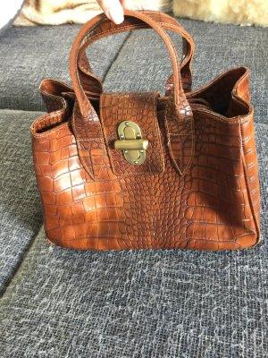 Carry Bag cognac-coloured