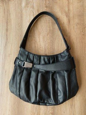 Handtasche aus schwarzem Kunstleder von Esprit medium