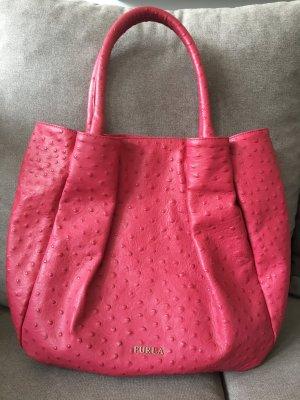 Handtasche aus Straußenleder wie neu