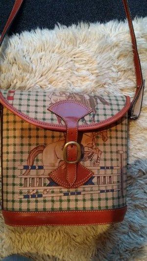 Handbag cognac-coloured-brown