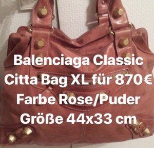 Handtasche Balenciaga in Puder rose'