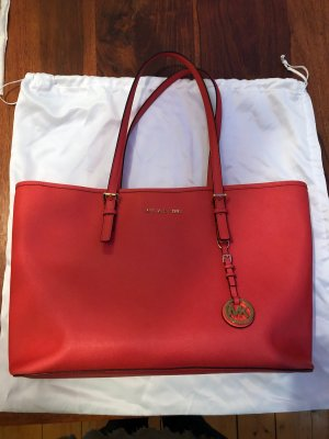 Michael Kors Sac Baril rouge clair-rouge