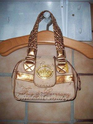 Handtasche beige, goldfarben Friis Company